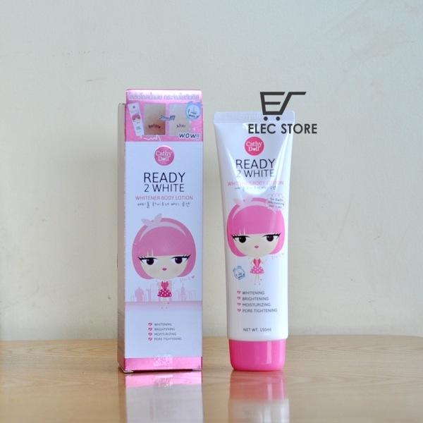 Sữa dưỡng thể trắng da Cathy Doll  Ready 2 White 150ml Thái Lan giá rẻ