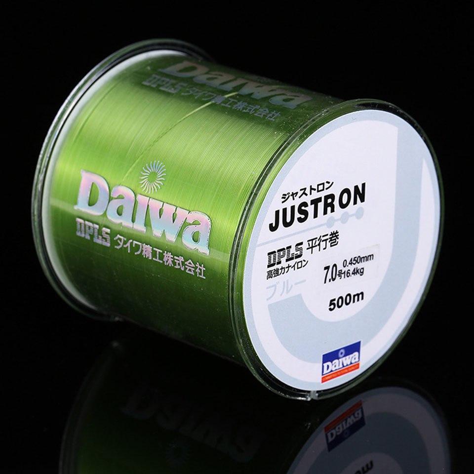 Cước Câu Cá Loại XỊN Daiwa Justron Dài 500 Mét – Dây Cước Câu Cá Nhật Bản Có đủ SIZE Cùng Giá Khuyến Mãi Hot