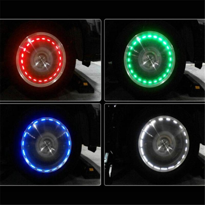 Đèn gắn xe hơi - Đèn led gắn bánh xe hơi tự động thông minh.