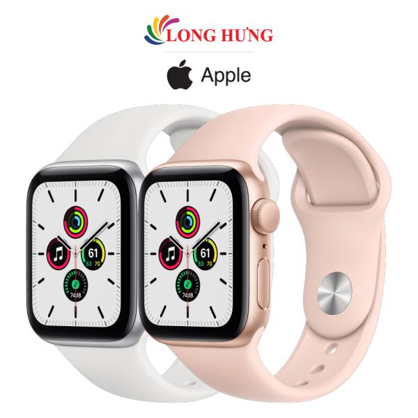 [VOUCHER 8% TỐI ĐA 800K] Đồng hồ thông minh Apple Watch SE GPS Aluminum Case Sport Band - Hàng chính hãng - Bộ nhớ trong 32GB, Chống nước chuẩn quốc tế, Gia tốc kế, con quay hồi chuyển, la bàn