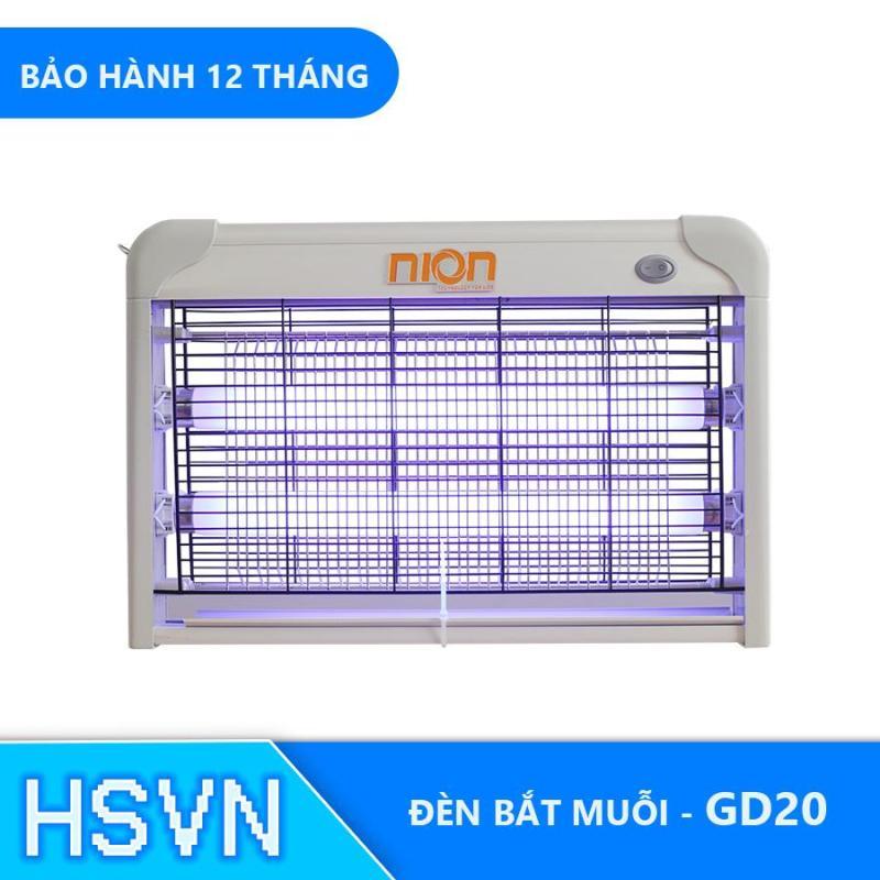 Đèn bắt muỗi côn trùng UV Việt Nhật Nion GD20 cho gia đình