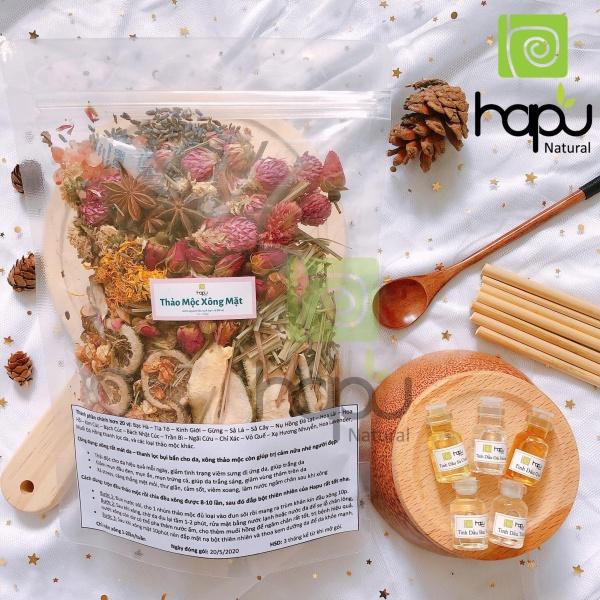 Thảo Mộc Xông Mặt Nhà Làm Hapu Organic Đẩy Mụn Ẩn, Giảm Các Loại Mụn, Dưỡng Da, Thanh Lọc Cho Da, Tẩy Tế Bào