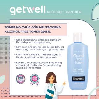 NƯỚC HOA HỒNG NEUTROGENA ALCOHOL FREE TONER 250ML thumbnail