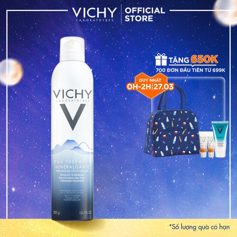 Xịt khoáng dưỡng da Vichy Mineralizing Thermal Water 300ml giúp cấp ẩm và bảo vệ da giá rẻ