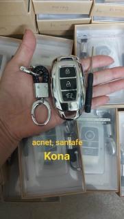 ( Đẳng cấp) Bao da chìa khoá ô tô silicon mạ crom đủ hãng xe 5.0 thumbnail