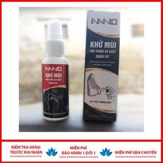 Xịt chống hôi chân nano, nước khử mùi hôi giày cao cấp AS thumbnail