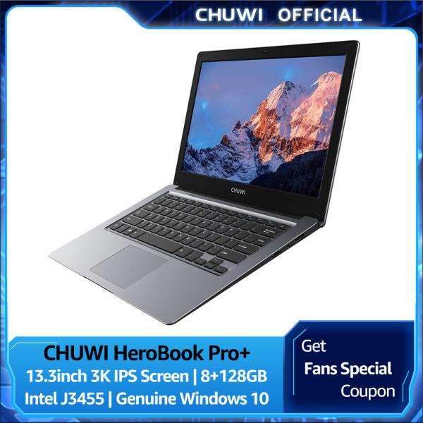 Bảng giá CHUWI Official HeroBook Pro+ 13.3 Inch 3200*1800 Win10 Laptop Computor   Intel J3455 6GB/128GB Lightweight Office Laptop Windows 10 brand new laptop 1 Year International Warranty Phong Vũ