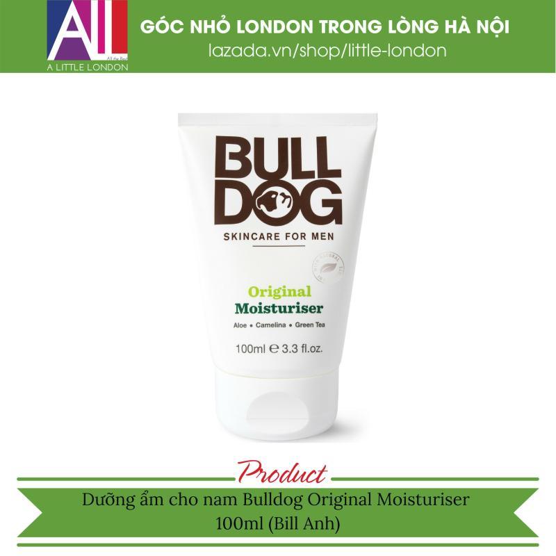 Dưỡng ẩm cho nam Bulldog Original Moisturiser 100ml (Bill Anh)