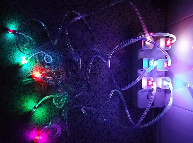 Cáp sạc cho Androi, Samsum siêu bền có đèn led