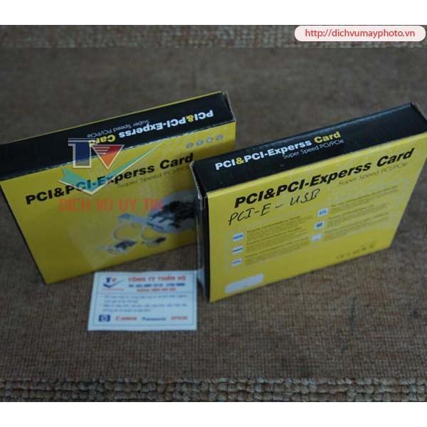 Bảng giá Card chuyển PCI to USB cho main dòng H61 H77 H81 H110 Phong Vũ
