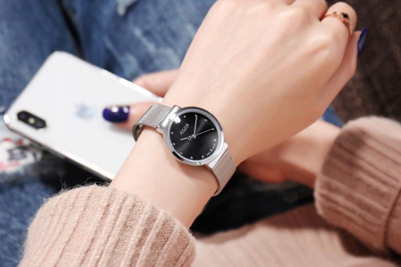 Đồng hồ Julius chính hãng Hàn Quốc ja-426l dây thép