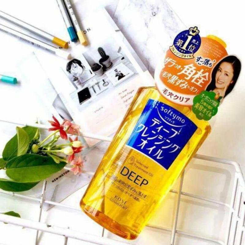 Dầu Tẩy Trang Kose Deep Softymo Cleansing Oil Nhật Bản cao cấp