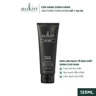 Kem Làm Sạch Tế Bào Chết Dành Cho Nam Sukin For Men Facial Scrub 125ml SU41LA - SUKINVN - SUKIN BEAUTY
