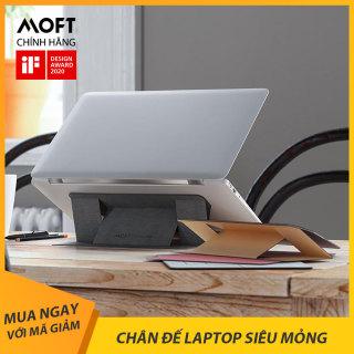 Đế Nâng Tản Nhiệt Laptop, Di Động Chân Đế Cho Macbook Siêu Mỏng Moft Stand x DesignNest thumbnail