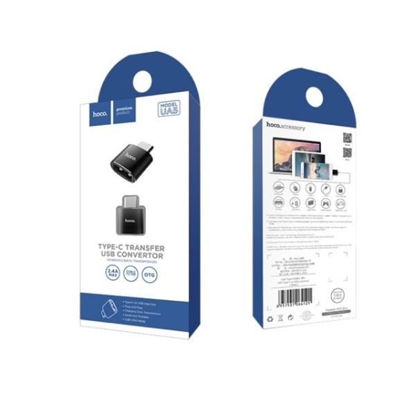 Bảng giá Đầu chuyển USB Type C sang USB hoco UA5 ( OTG ) Phong Vũ