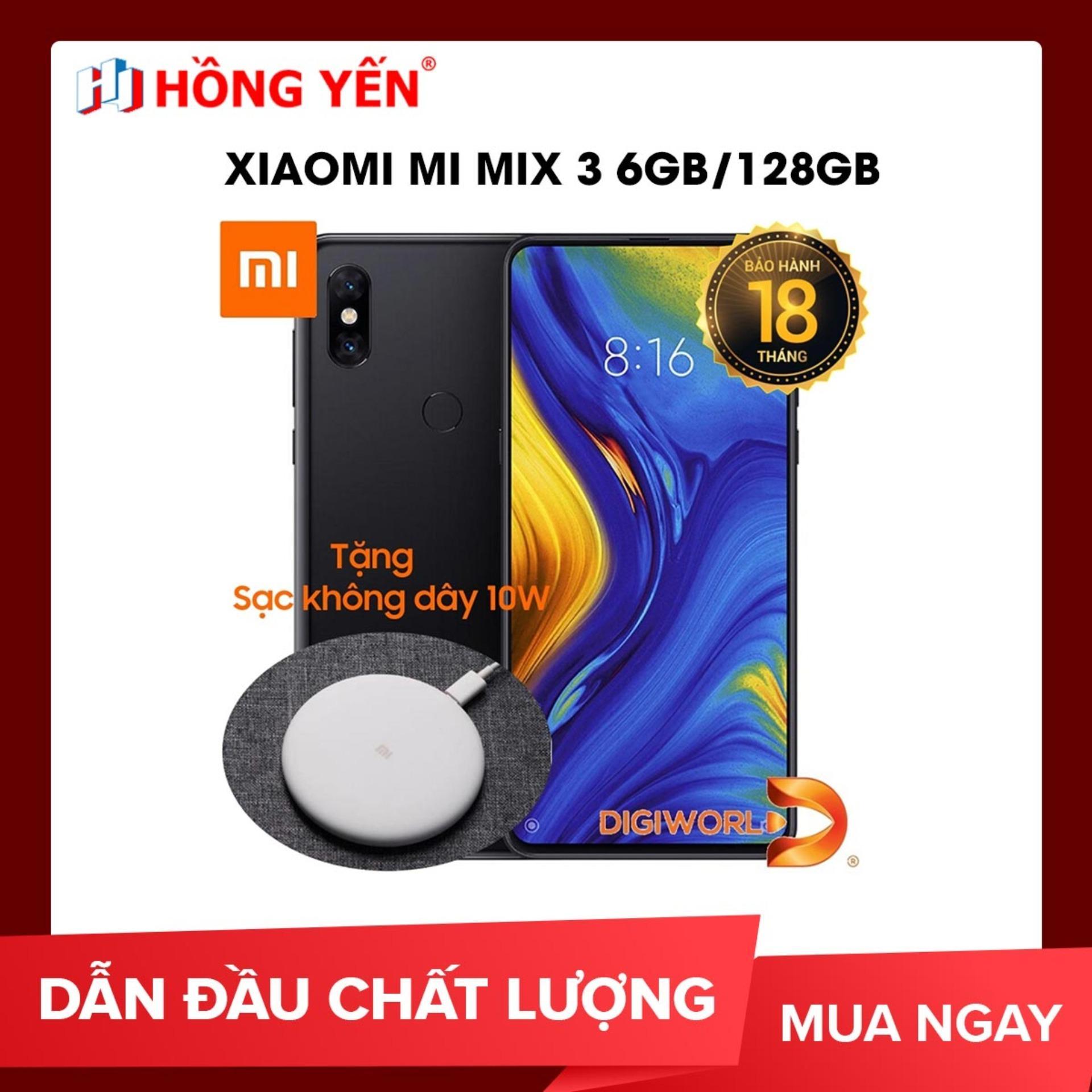 Xiaomi Mi Mix 3 6GB/128GB - Hãng phân phối chính thức