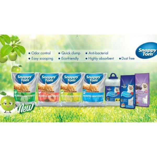 Cát vệ sinh cho mèo Snappy Tom Hương Cà Phê 5L