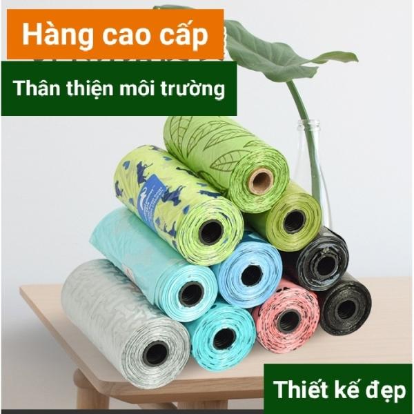 [Hàng cao cấp] Túi hốt đựng phân chó, mèo tự phân hủy thân thiện môi trường - Bịch hốt phân thú cưng.