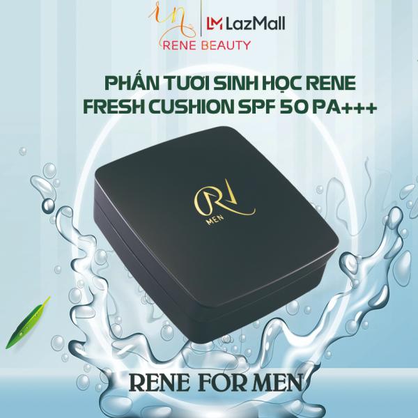 Phấn tươi cho Nam (phấn lót, nền, dưỡng, chống nắng) Rene Fresh Cushion SPF 50 PA+++ [For Men] from USA