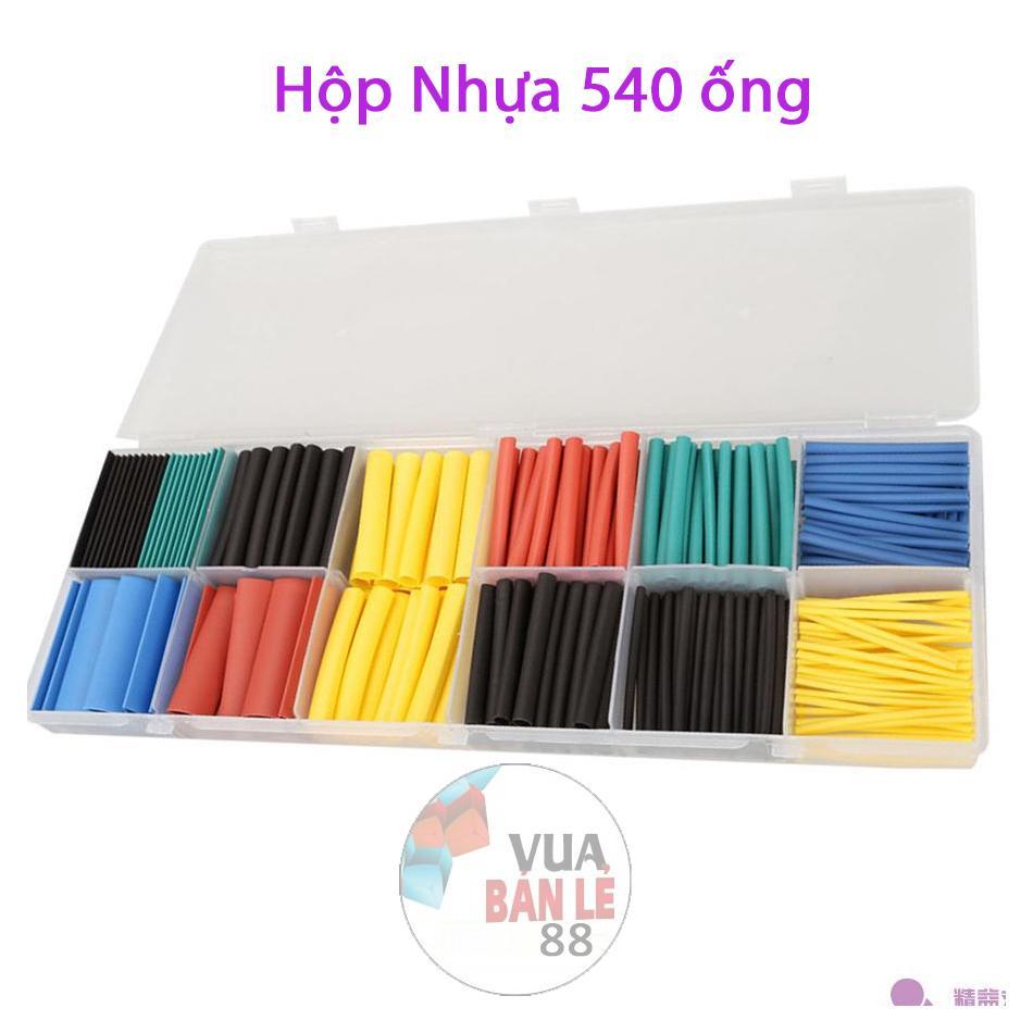 Hộp nhựa 540 ống gen co nhiệt nhiều màu