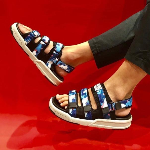 Dép sandal nam cao cấp xuất khẩu thời trang thương hiệu Vento  NV1001 Giày Xăng Đan Nam Thể Thao giá rẻ