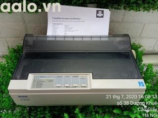 Máy in Kim Epson LQ300+II (24 kim, in khổ A4) Kèm băng mực , dây nguồn , dây USB mới thumbnail