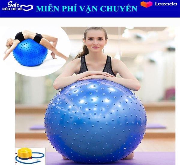Bảng giá Bóng Tập Yoga Có Gai 75CM - giúp cho cột sống khỏe mạnh và dẻo dai hơn