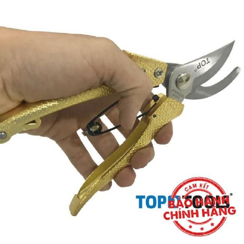 Kéo cắt tỉa cành 8 inch 200mm TOP 120323-PSGOLD - BH Chính Hãng