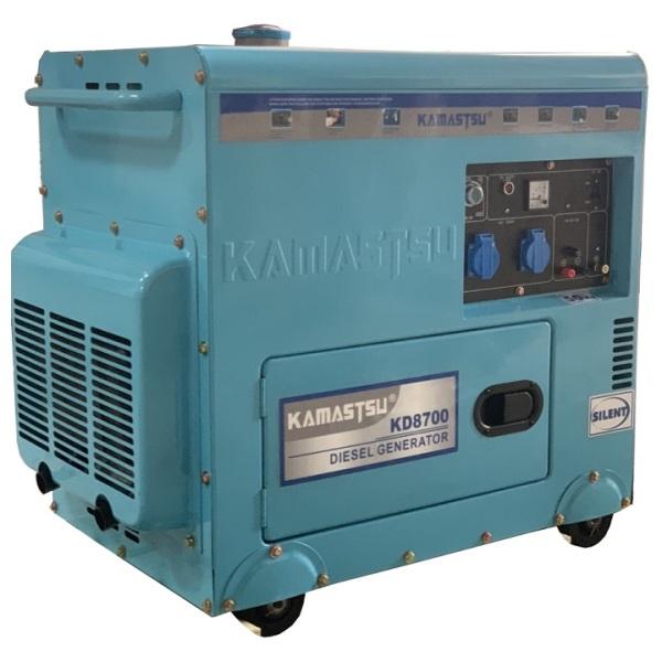 Máy Phát Điện Chạy Dầu 7Kw Kamastsu KD8700