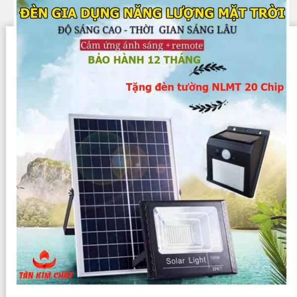 [Mua 1 Tặng 1] Đèn LED năng lượng mặt trời 30w-60W-100W-200W-Bảo hành 12 tháng-IP67