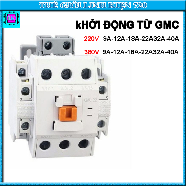 Bảng giá Khởi động từ LS GMC 9A/12A/18A/22A/32A/40A điện áp 220V/380V
