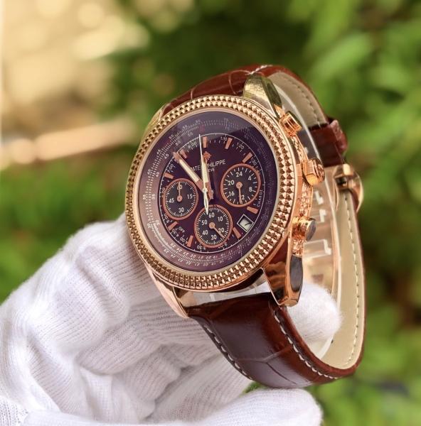 đồng hồ nam Patek - đồng hồ nam full 6 kim dạ quang chống nước bán chạy