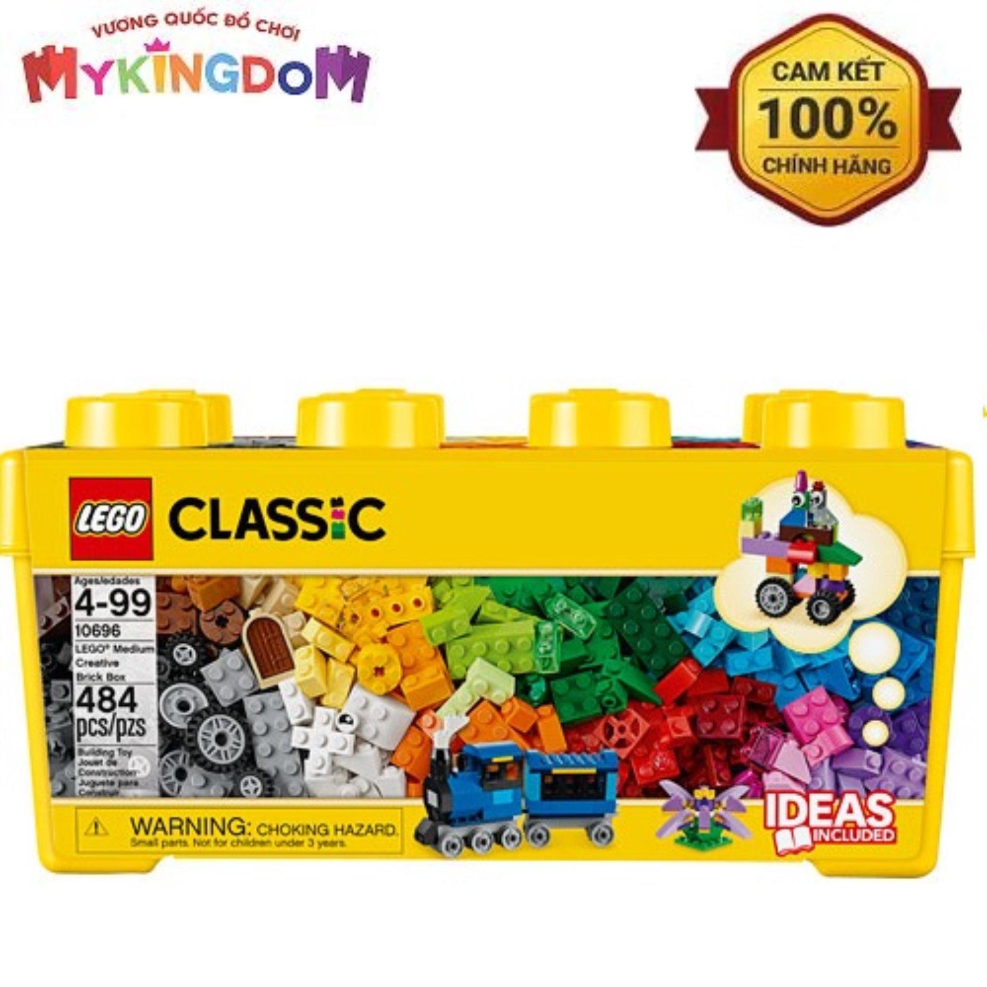 Offer Ưu Đãi Thùng Gạch Trung Classic Sáng Tạo LEGO 10696