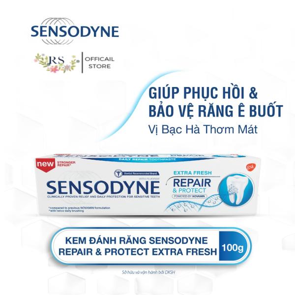 Kem Đánh Răng Sensodyne Repair & Protect Extra Fresh 100g