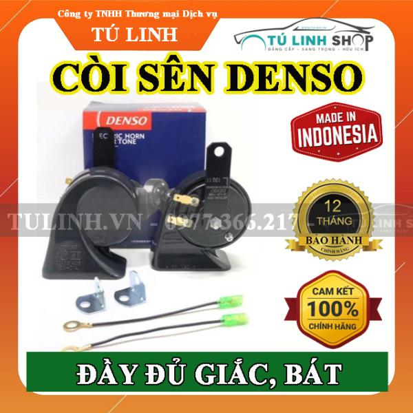 Còi sên sò Denso chính hãng - Giắc bát đầy đủ - bảo hành 12 tháng