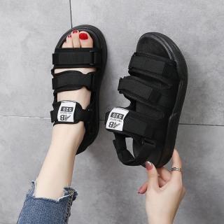 (Sẵn Hàng) Sandal nữ nam thời trang Ulzzang quai chữ AB vải siêu đẹp hót hít thumbnail