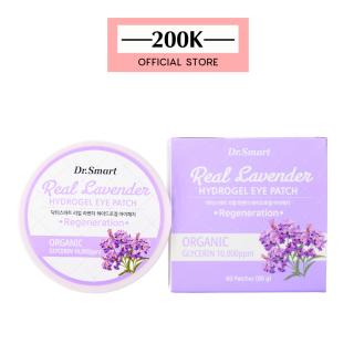 Mặt Nạ Mắt Chiết Xuất Hoa Lavender Chống Thâm Dr.Smart Real Lavender Eye Patch thumbnail