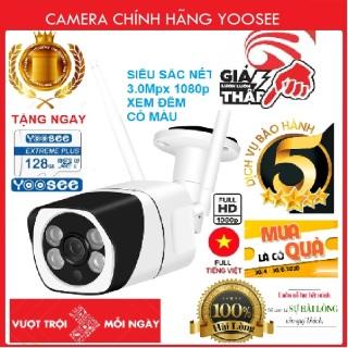 (TẶNG thẻ 32 gb+bộ sạc trị giá 200k)Camera ngoài trời s10- Camera wifi- BH 5 năm 1 đổi 1 trong 7 ngày thumbnail