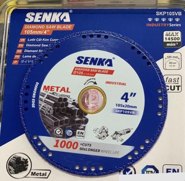 SIÊU PHẨM: 1 Lưỡi cắt sắt kim cương đa năng SENKA cho máy tua nhanh [CHỌN 105MM 125mm 180MM]