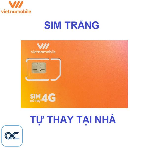 Sim trắng vietnamobile tự thay