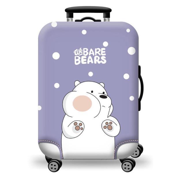 Túi bọc bảo vệ vali -Áo vỏ bọc vali - H102 Size S M L HPValiOEM