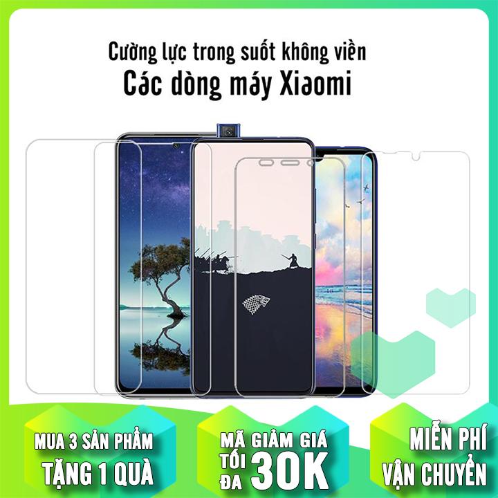 Giá Tiết Kiệm Để Sở Hữu Ngay [MUA 1 TẶNG 1] Cường Lực Trong Suốt Cho Các Dòng Máy Xiaomi Redmi Note 9S/Note 9Pro Redmi K30 / Mi A2 Lite / 6 Pro / Note 5 / Pocophone F1 / Redmi 5 Plus / Mi 8 / Mi 8 SE / Redmi S2 / Redmi 6  6A / Mi A2 / 6X / Note 6 Pro / RM NT 7 / Mi 9 / Mi 9 SE
