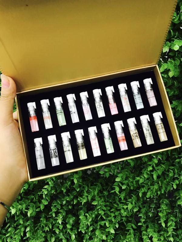 Bộ Test Nước Hoa 20 Mùi Cao Cấp- 2ml/1chai nhập khẩu
