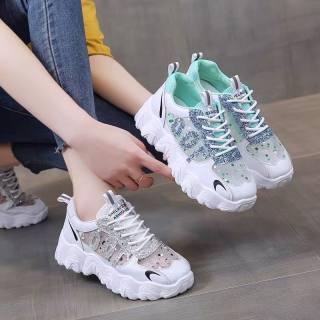 Giày thể thao nữ , giày nữ độn đế hàng siêu đẹp giá tốt (TT nhũ)