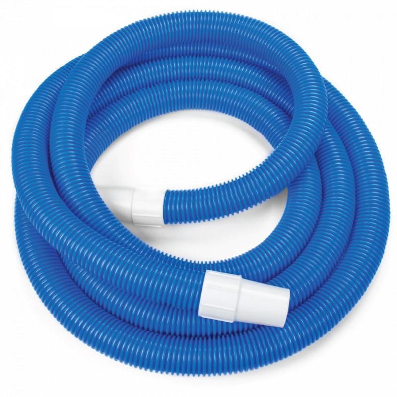 Ống mềm dài 9 mét là dụng cụ hổ trợ quan trọng trong việc hút dáy làm sạch bể là một trong 5 món thiết bị vệ  sinh hồ bơi