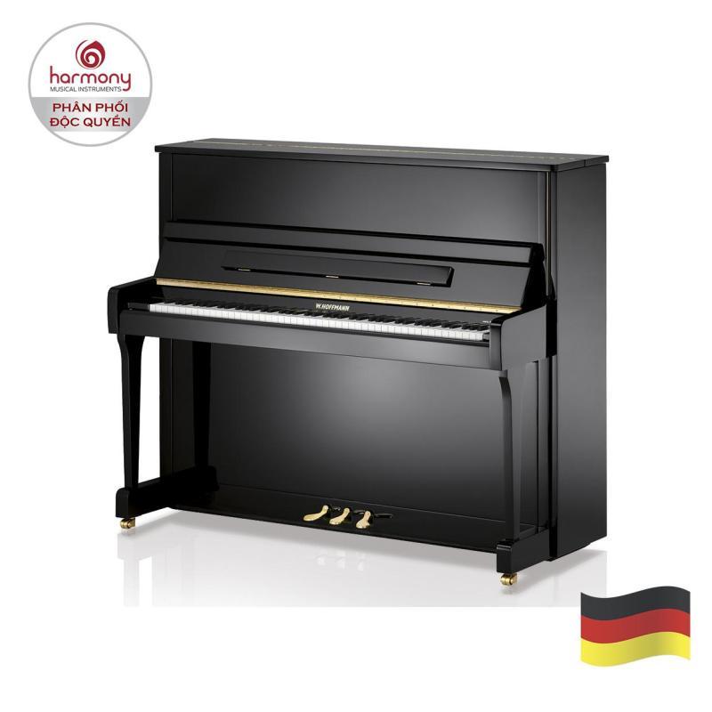 Upright Piano W.HOFFMANN - V120 Black Polished | Đàn Piano Đứng W.HOFFMANN - V120 Black Polished (Harmony Music)