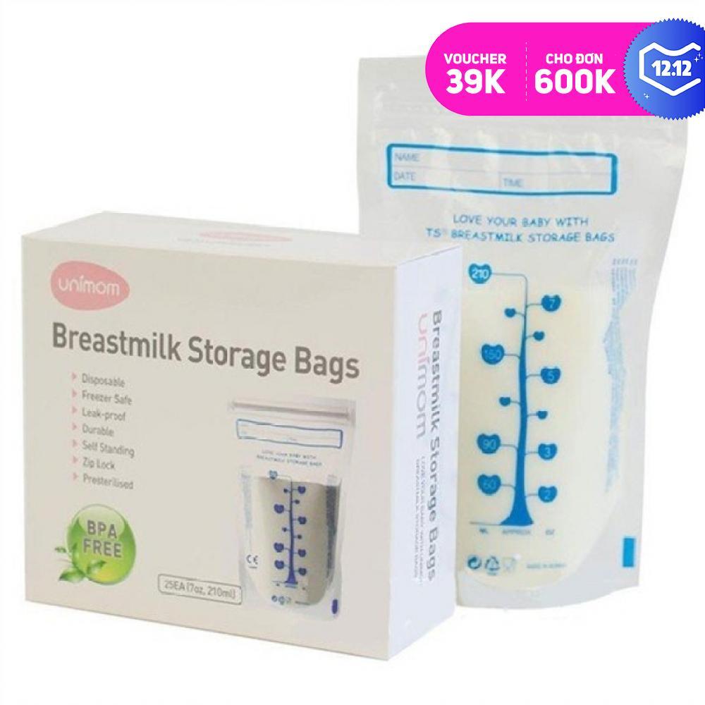 Túi Trữ Sữa Unimom 210ml - 60 Túi Siêu Ưu Đãi tại Lazada