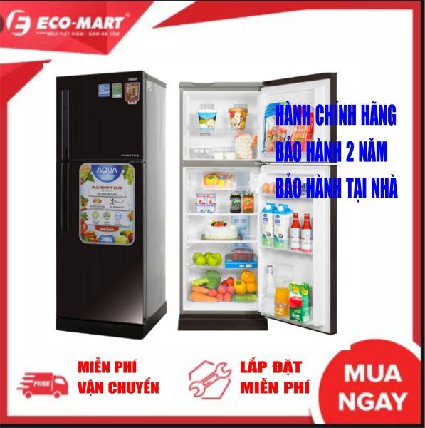Tủ lạnh AQUA 186 Lít AQR-I209DN inverter Dung tích ngăn đá:50 lít Dung tích ngăn lạnh:136 lít Công nghệ Inverter:Tủ lạnh Inverter Công suất tiêu thụ công bố theo TCVN:~ 0.91 kW/ngày