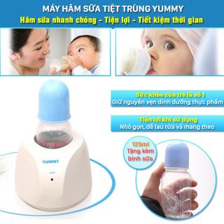Máy hâm sữa, máy hâm sữa Yummy, giúp hâm ủ sữa, tiệt trùng, giữ sữa ở nhiệt độ ổn định 35 c -40 c. Máy ủ sữa giúp hâm nóng đều, nhanh chóng bình sữa hoặc thức ăn cho bé trong ít phút. thumbnail