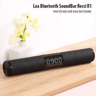[ SALE 50%] Dàn Loa Soundbar Tivi Công Suất Lớn Recci R1- Bass Mạnh-Bluetooth 5.1- Thời Gian Sử Dụng 10 Giờ, Loa Thanh Soundbar Để Tivi, Loa Vi Tính, Chất Âm 3D, Âm Thanh Vòm 360 Cực Chất. Loa Bluetooth Không Dây Công Suất Lớn. BH 12 Tháng. thumbnail